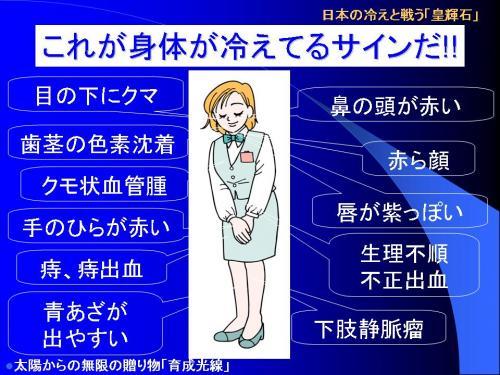 仕事をしながら足温器で体を温めるだけで、体温があがり症状が変化します。